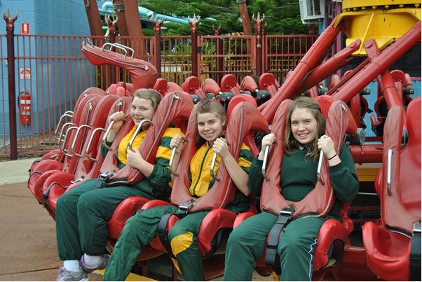 Lockyer High Physics at Dreamworld